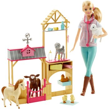 Barbie Farm Vet Doll and Playset