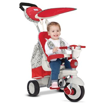 Smart Trike Dazzle - Red and White
