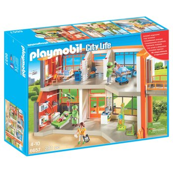 Playmobil City Life Furnished Children's Hospital 6657