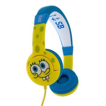 Novelty Travel Portable On-Ear Foldable Headphones Letter Initial Baby Girl Block Font Pink Shower - Letter I... For Sale