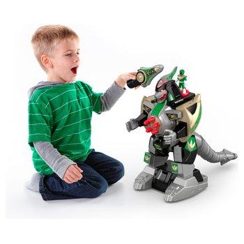 Imaginext Power Rangers Green Ranger & Dragonzord Remote Control