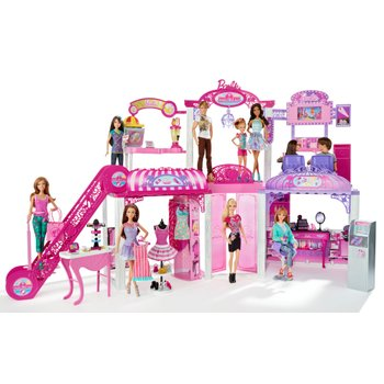 Barbie Malibu Mall with Dolls
