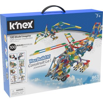 K'NEX 100 Model Building Set