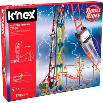 K'NEX Electric Inferno Roller Coaster Building Set