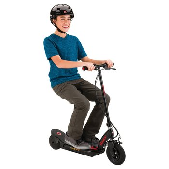 Razor Power Core E100 Electric Scooter with Seat-Red