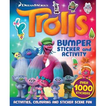 DreamWorks Trolls Bumper Sticker and Activity Book