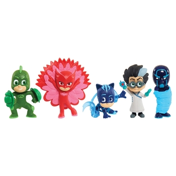PJ Masks Collectible Figures 5 pack