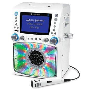 Singing Machine STVG785BT LCD Karaoke Machine White