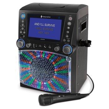 Singing Machine STVG785BT LCD Karaoke Machine Black