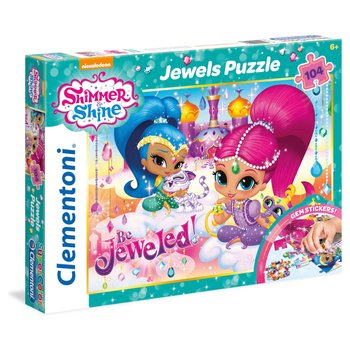 158380: Shimmer and Shine Jewels 104pc Jigsaw Puzzle