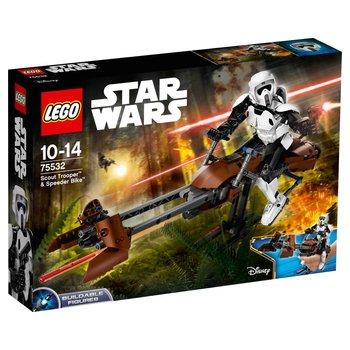 LEGO 75532 Star Wars Constraction Scout Trooper & Speeder Bike