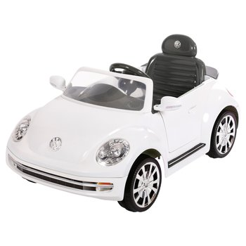 Volkswagen Beetle White Electric Ride On