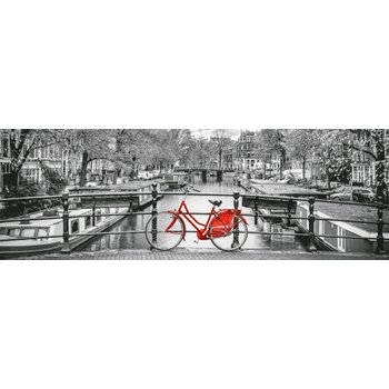 Clementoni Panorama 1000 Piece Puzzle Amsterdam Bicycle