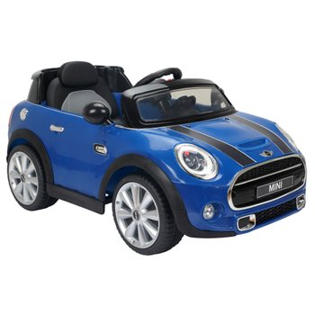 Blue Mini Hatch 6V Electric Ride On