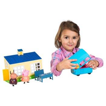 Peppa Pig School and School Bus Play Set