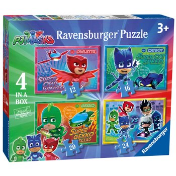 PJ Masks 4 in Box Jigsaw Puzzles