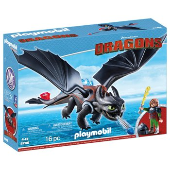 Playmobil 9246 Dragons Hiccup & Toothless