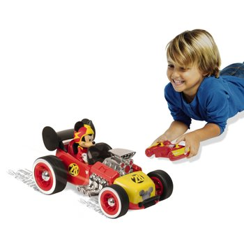Mickey Mouse Roadster Racer Remote Control Car
