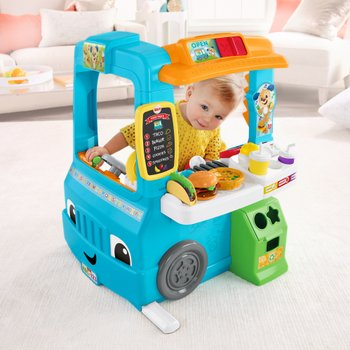 Fisher Price Laugh Learn Servin Up Fun Food Truck