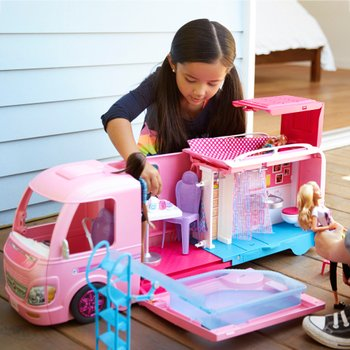 Barbie Dream Camper Van Playset With Accessories