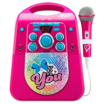 JoJo Siwa Light Up Karaoke Machine with Microphone