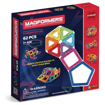 Magformers 62 Piece Magnetic Construction Set
