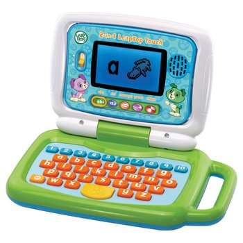 LeapFrog 2 in 1 LeapTop Touch Laptop Green