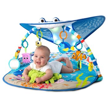 Disney Baby Finding Nemo Mr. Ray Ocean and Lights Gym
