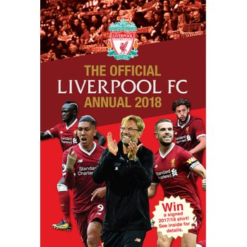 Official Liverpool FC Annual 2018