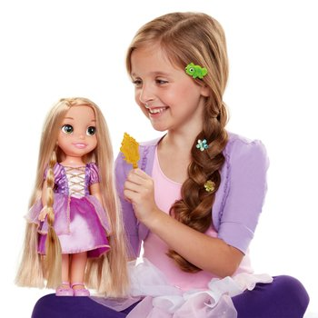 Disney Princess Glow and Style Rapunzel Doll NR