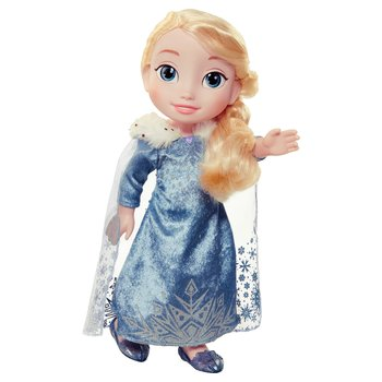 Disney Frozen Olafs Adventure Elsa Toddler Holiday Deluxe Doll