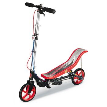 Space Scooter X580 - Black/Red