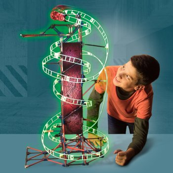 K'NEX Web Weaver Roller Coaster Building Set