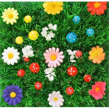 Irish Fairy Door Decorative Fairy Grass