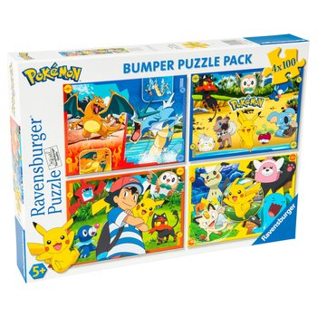 Pokemon 4 x 100pc Jigsaw Puzzle Bumper Pack