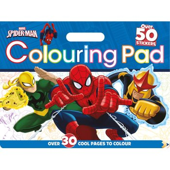 SpiderMan Colouring Pad