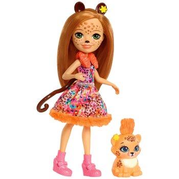 Enchantimals Cherish Cheetah Doll Cheetah Friend Quick-Quick Figure