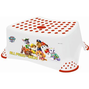Nickelodeon Paw Patrol Step Stool - White and Red