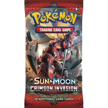 Pokémon TCG: Sun and Moon Crimson Invasion Booster