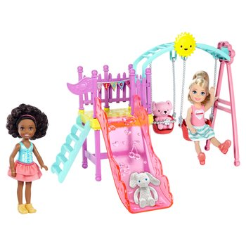 Barbie Chelsea Playset With Two Dolls Included