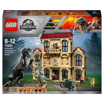 Lego 75930 Jurassic World Indoraptor Rampage Dinosaur Toy