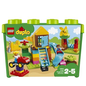 163848: LEGO 10864 Duplo My First Large Playground Brick Box Toy
