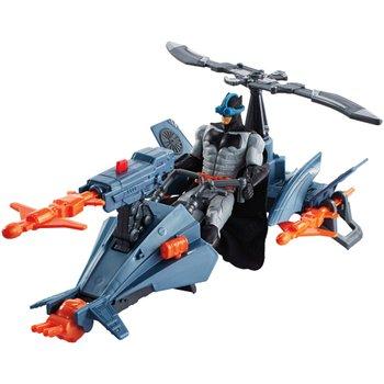 Justice League Batman & Batcopter Vehicle And Figure