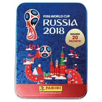 Panini FIFA World Cup 2018 Sticker Mega Tin