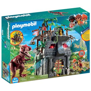 Playmobil Explorers Dinosaurs T-Rex with Hidden Temple 9429