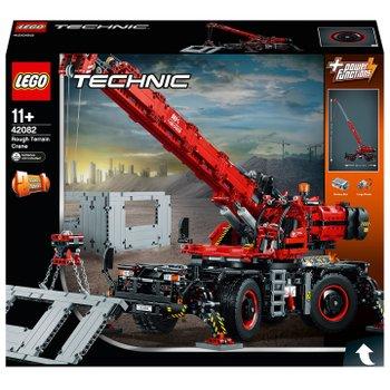 Lego 42082 Technic Rough Terrain Crane Construction Vehicle Toy