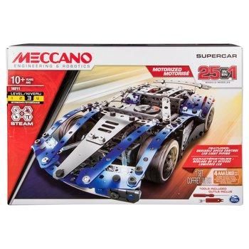 167848: Meccano 25 Model SuperCar Set