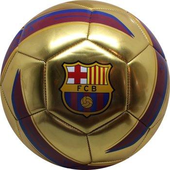 168631: FC Barcelona Ball Gold Metallic Size 5