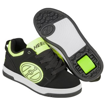 843e6caf00cc Heelys Voyager Black Yellow Glow in the Dark UK 3