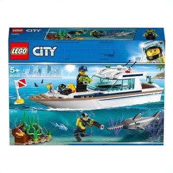 169862: LEGO 60221 City Diving Yacht Deep Sea Boat Set